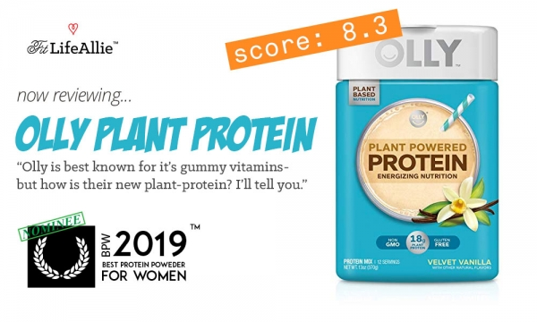 Olly Plant-Powered Protein Review: As Good as their Gummies?