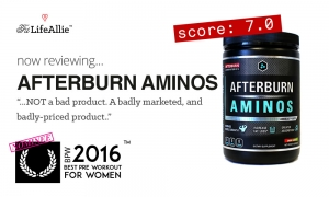 My Afterburn Aminos Review. Just a Little Bit Over-Hyped...