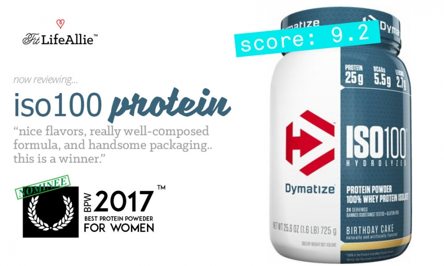 My Dymatize ISO 100 Review A Very Well Rounded Product