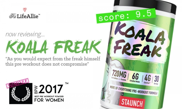 Koala Freak Pre Workout Review. Has Calum Pulled it Off?