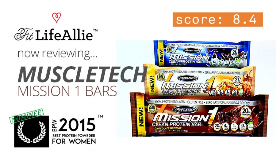 Muscletech Mission 1 Protein Bar Review: Can't Top Quest