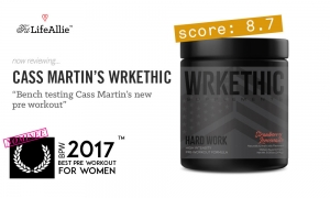 Cass Martin's WRKETHIC Pre Workout Review: How Good is it?