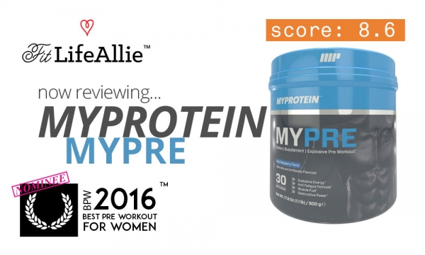 Myprotein MyPre Pre Workout Review: Just a Bit Underwhelmed