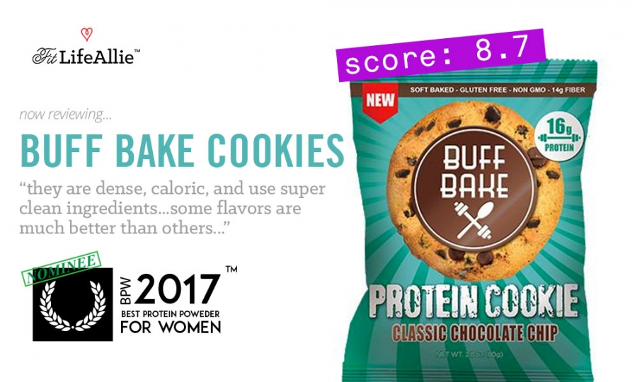Buff Bake Protein Cookie Review Theyre Dense Oh So