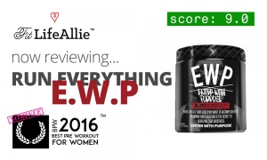 Run Everything EWP Pre Workout Review: A Brilliant First Stab