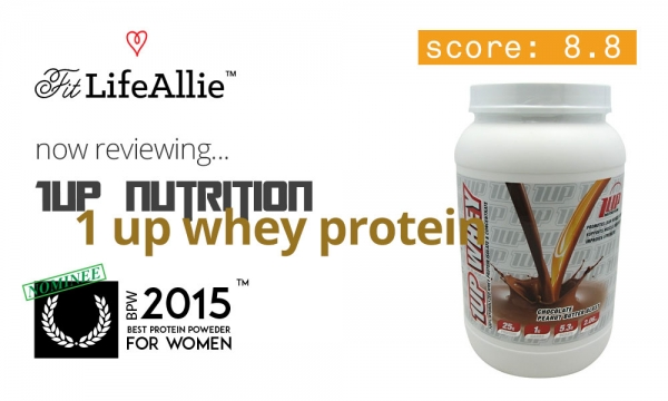 1Up Nutrition Whey Protein: Great Taste, Nice Formula