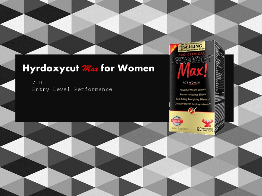 Hydroxycut Max for Women Review- It's A Cheap, Entry-Level Diet Pill
