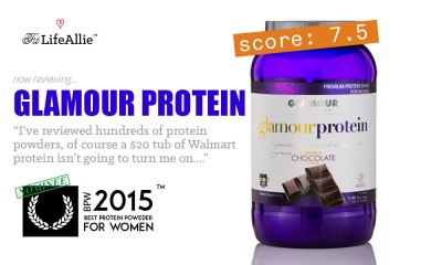 My Glamour Protein Review: Can a Walmart Protein Hang?