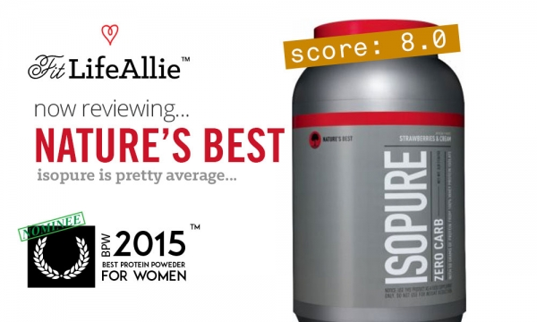 REVIEW: Nature's Best ISOPURE. A Very Average Protein.