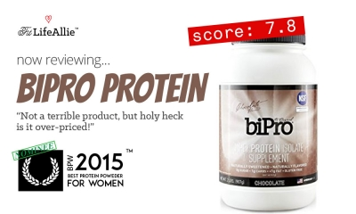 BiPro Review: Not a Bad Protein, But Wow is it Over-Priced..