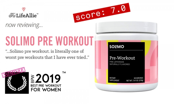 Solimo Pre Workout REVIEW: This Stuff is Absolutely Awful.