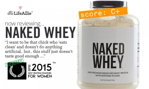 NKD Nutrition Naked Whey Review- Not Good Enough. Sorry.