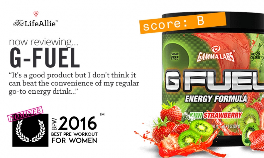 Gamma Labs G-Fuel Review: Not Going to Replace My Rockstar