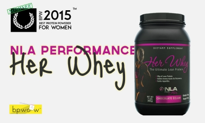 NLA Her Whey Protein Powder Review - Should You Buy?