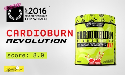 Allie's MuscleSport Cardio Burn Revolution Review: Four Stars