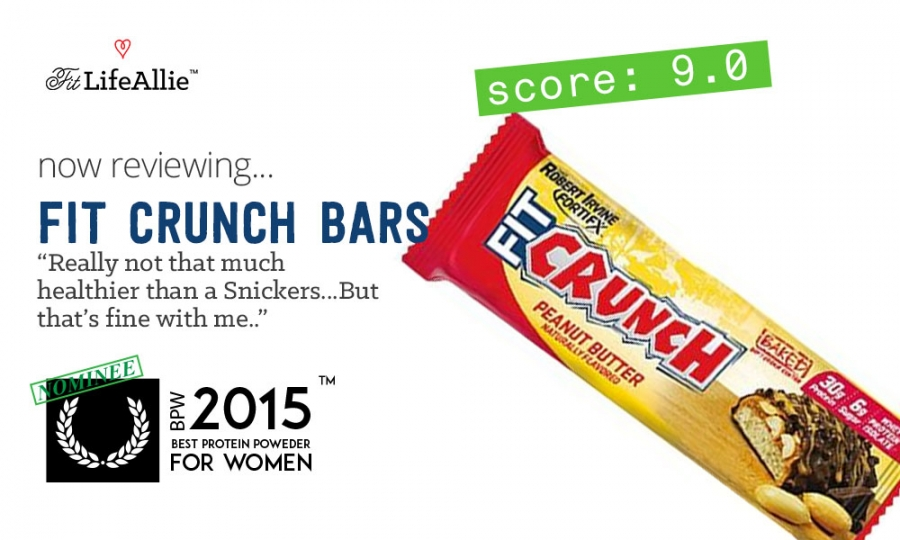 My Fit Crunch Bar Review Just Eat A Snickers Instead I Love Chef Robert Irvine