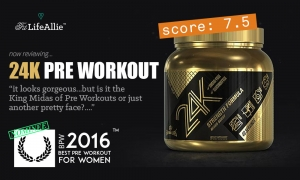 Gamma Labs 24K Pre Workout Review: King Midas' Own Pre?