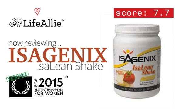 Isagenix IsaLean Shake Review: A Sugary Meal Replacement