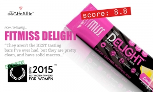 My Bite-Sized Fitmiss Delight Protein Bar Review