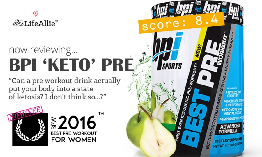 BPI Best Keto Pre Workout is Actually