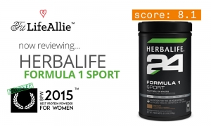Herbalife 24 Formula 1 Sport Protein Review: Too Sugary For Me